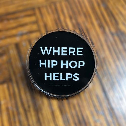 Where Hip Hop Helps Pins