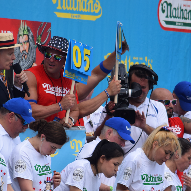 2018 Hot Dog Eating Contest