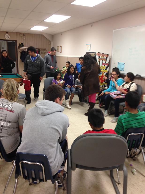St. John's & St. Ben's Student Service Learning