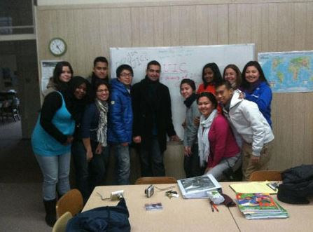 Volunteers from University of Chicago, one week hands onexperience