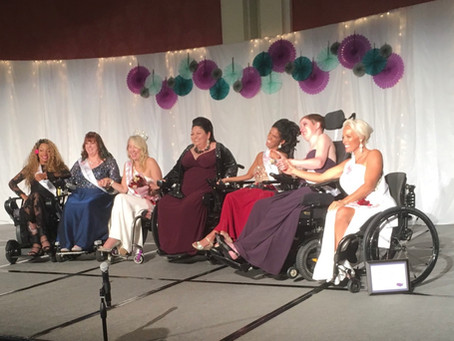 Krystina Jackson is named second runner up at Ms. Wheelchair America Pageant!
