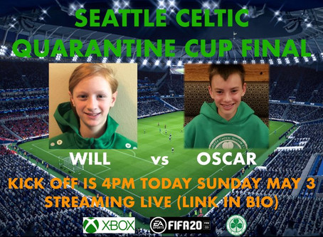 Latest Seattle Celtic Media Content