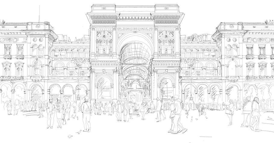 Galleria Vittorio Emanuele (c) Bea Spolidoro