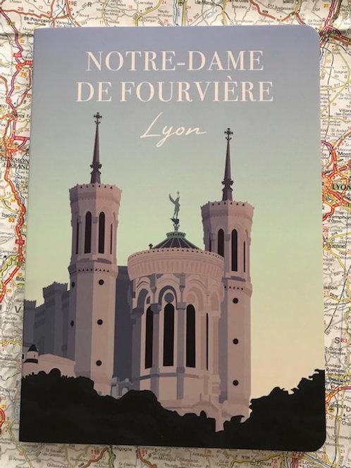 Cahier Lyon Notre Dame de Fourviére