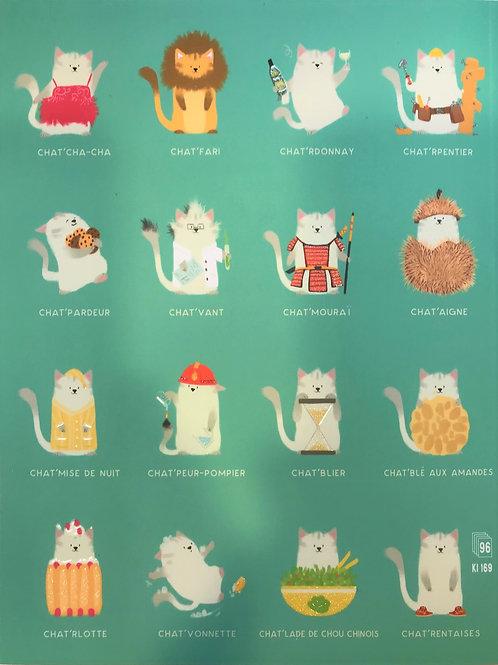 Carnet bandes de Chats