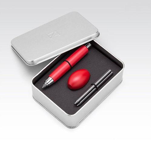 Big pencil set bois rouge Fabriano