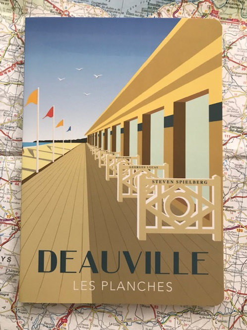 Cahier Deauville Les Planches