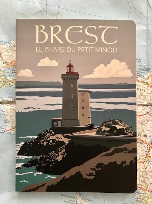 Cahier Brest Le phare du petit minou