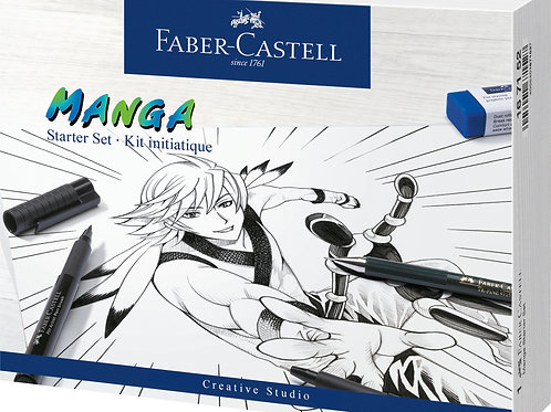 Coffret initiation Manga Faber Castell