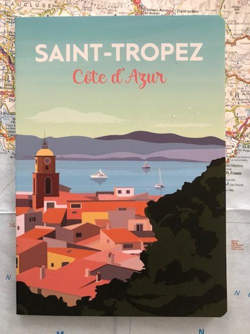 Cahier Saint-Tropez Côte d'Azur