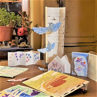 playing with paper projectsAdult Classes