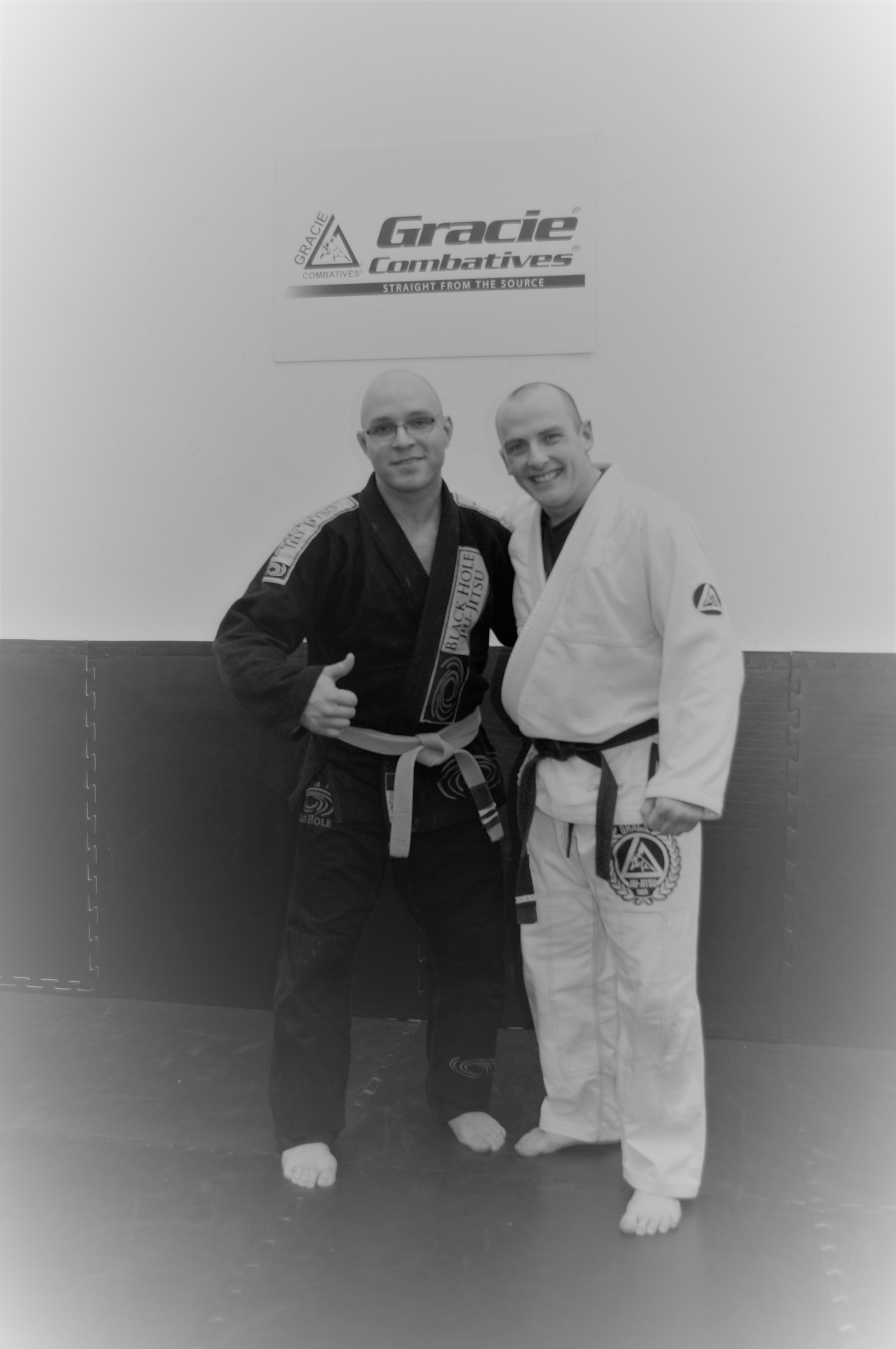 Edmonton Gracie Jiujitsu Henry and Jeff