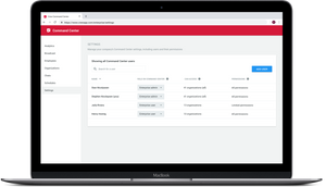 Role-Based Permissions in Command Center