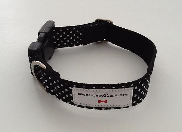 Black & white Spot Collar