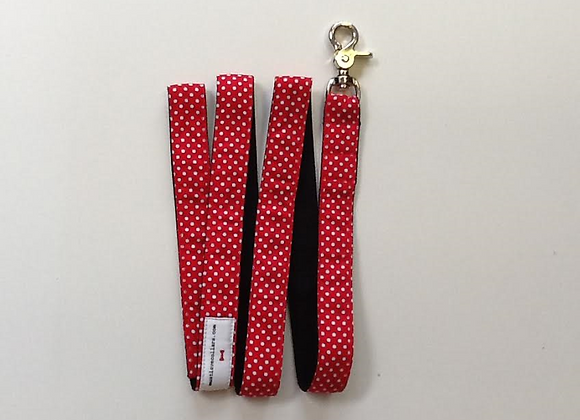 Red and White Spot Lead