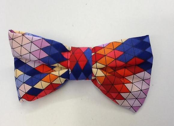Orange Multi Colour Bow Tie