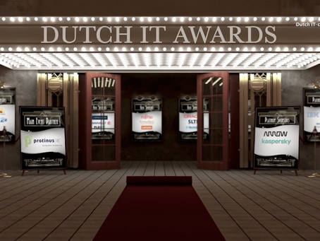 Succesvolle online Dutch IT Awards productie