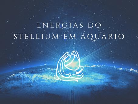 Stellium em Aquário 11 e 12/02 de 2021