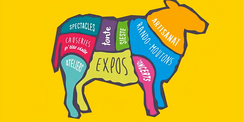 La Bêêêle et Laine - Festival des moutons et de la laine