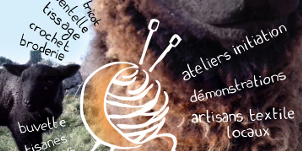 Fête de la laine à Landerneau (Finistère)