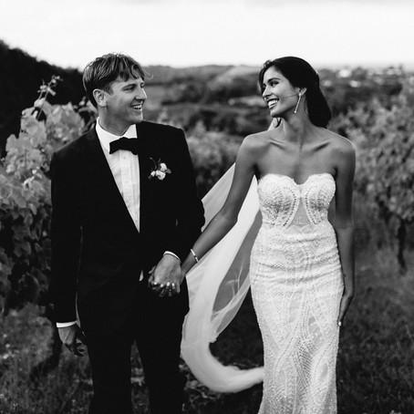 Organic Mudbrick Vineyard Wedding