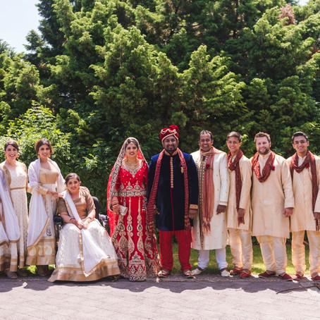 Soraiya and Alkaif's - Indian Fusion Wedding