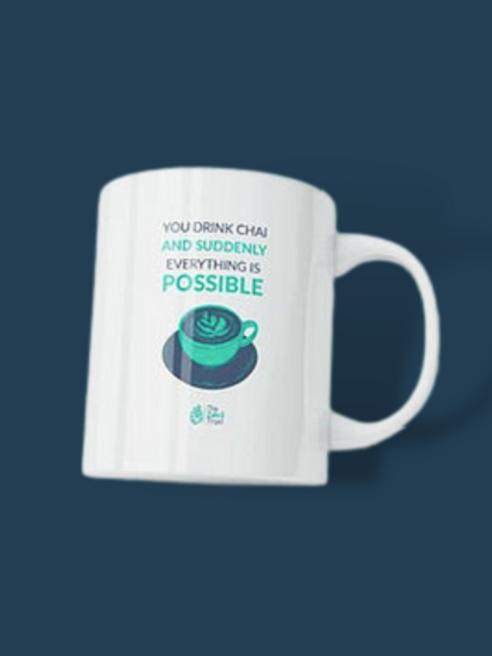 """Everything is possible"" Mug"