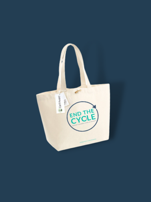The Zahra Trust End The Cycle Tote bag