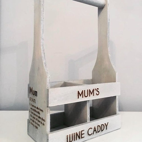 Mum's Wine Caddy Double Carrier