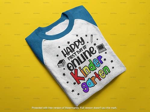 Happy First Day of Online Kindergarten