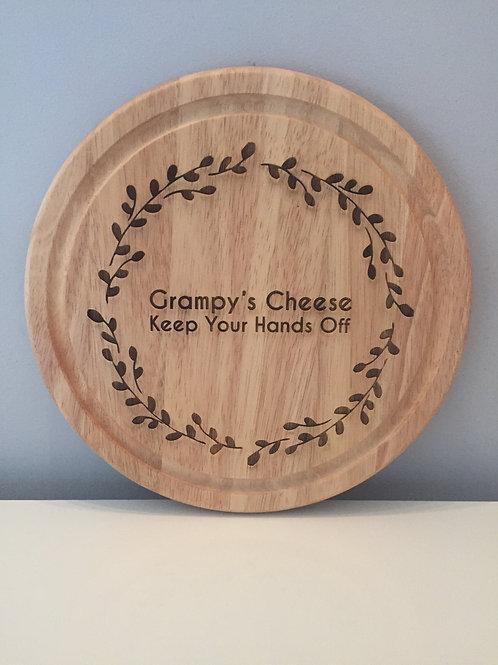 Personalised Engraved Cheeseboard Chopping Board Wedding Birthday Anniversary