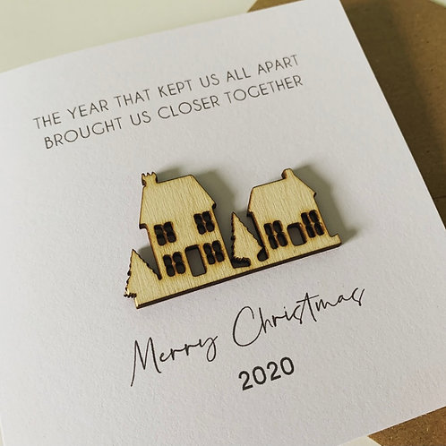 Limited Edition 2020 Christmas Card (Personalisation available)