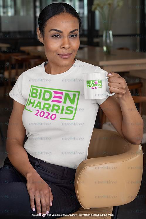 Biden Harris 2020 Pink & Green