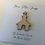 Thumbnail: Personalised Christening Card Birch Ply 3D Church Topper Card With Personalised