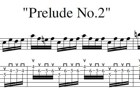 Prelude No.2 (arr) - Full Score