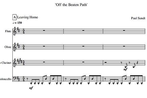 Off the Beaten Path - Full Score