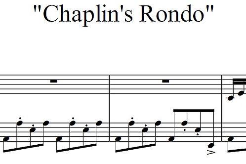 Chaplins' Rondo - Full Score