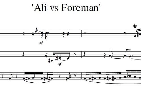 Ali vs Foreman - Full Score