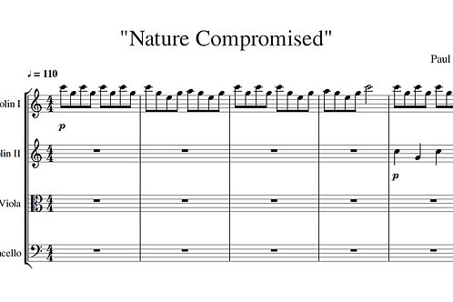 Nature Compromised - Full Score