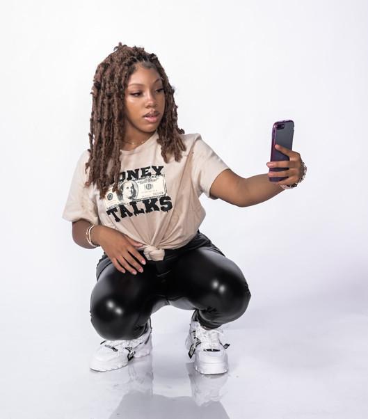 Princess Rock selfie Money Talks 1.jpg