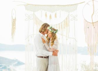 Wedding in Ios, Cyclades | The Aegean Sea Sparkles in this Greek Wedding Editorial