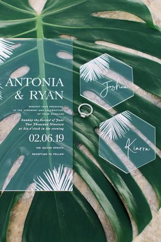 Ios Island Tropical-Chic Wedding