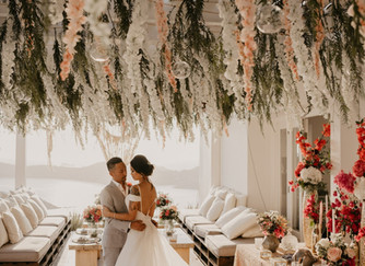 A Luxury Bohemian Elopement on los Island in Greece