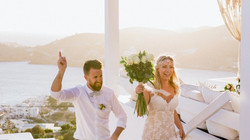 Dive into a chic, romantic video of a destination wedding in Ios!