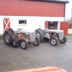 Bensin og diesel side om side