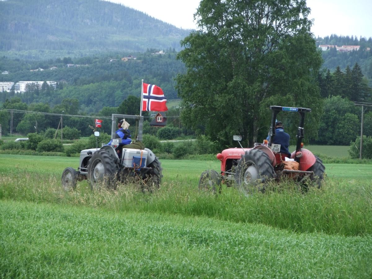 Norge på langs, på tur hjem