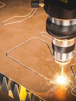 Corte a Laser por fibra óptica