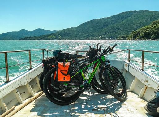 Pedal na boa de Floripa até a Gamboa