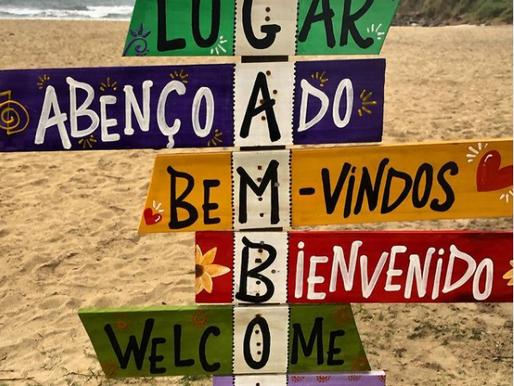 A nossa praia é ser FELIZ 🙂☀️🌊🌴