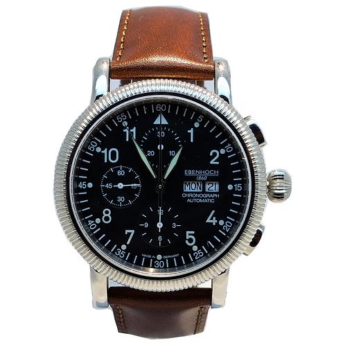 Herren Armbanduhr Chronograph EH16051 Fliegeruhr